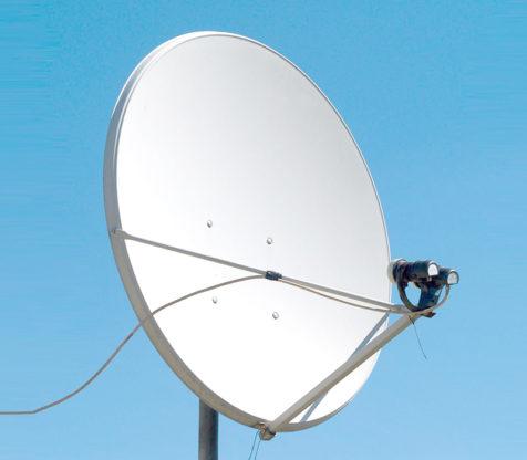 Antenna Parabola ABC